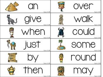 Write the Room:  BUNDLE Dolch Words (Pre Primer, Primer, 1st, 2nd)