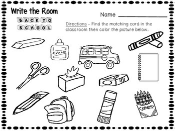 Write the Room Back to School