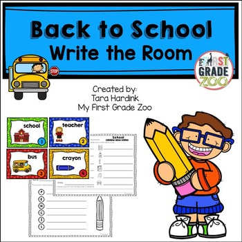 Back to School - Write the Room