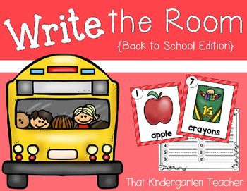 Write the Room {Back to School Edition}