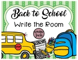 Write the Room - Back to School Edition
