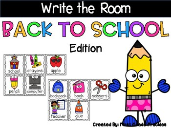 Write the Room: Back to School Edition