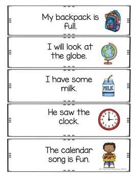 Write the Room Back to School  Kindergarten - 2  (Differentiated)