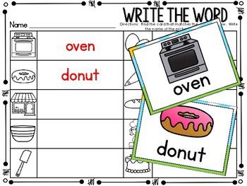 Write the Room - Baking Theme