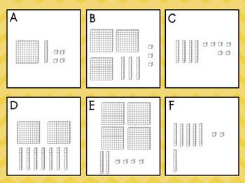 Write the Room: Base 10 Blocks