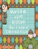 Write the Room Be A Word Detective