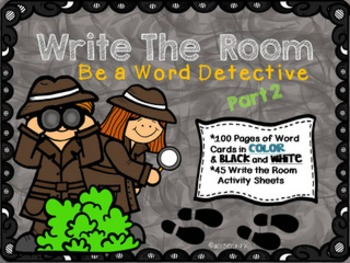 Write the Room Be a Word Detective Part 2