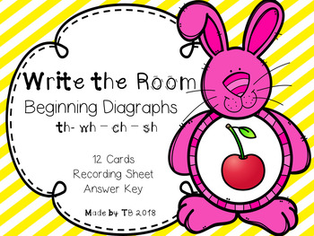 Write the Room Beginning Diagraphs