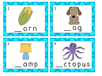 Write the Room- Beginning Sounds