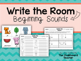 Write the Room Beginning Sounds FREEBIE