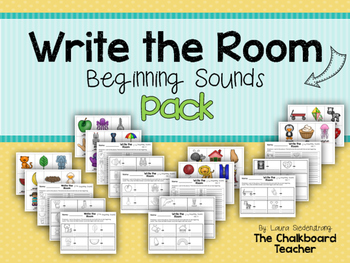 Write the Room Beginning Sounds Pack