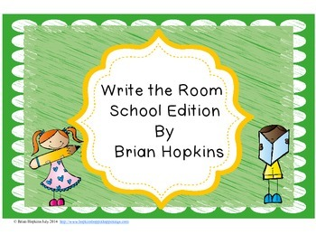 Write the Room Beginning Sounds - School Edition