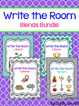Write the Room - Blends & Digraph BUNDLE