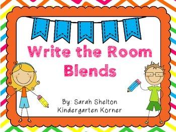 Write the Room Blends - Freebie