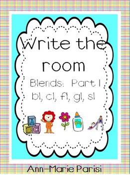 Write the Room, Blends Pack 1 (bl, cl, fl, gl, sl)