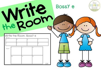 Write the Room: Bossy E