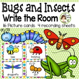 Bugs and Insects Write the Room - 16 cards