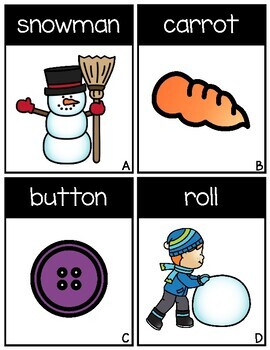 Write the Room: Building a Snowman Edition (K-2)