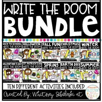 Write the Room- Bundle!!