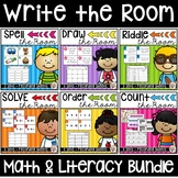Write the Room Bundle:  Math & Literacy