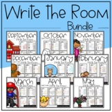 Write the Room Literacy Center Bundle: 87 Themes Included!