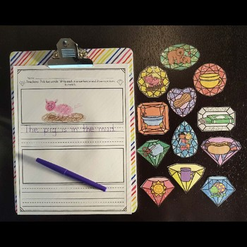 Write the Room Bundle (Vowel Patterns and Sight Words Edition)