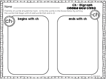 Write the Room - CH Digraph