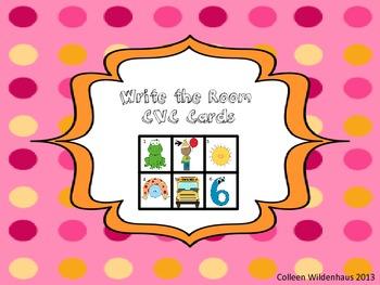 Write the Room- CVC Words