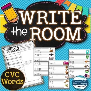 Write the Room CVC Words