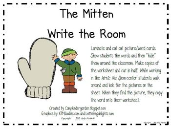 Write the Room-Camp Kindergarten Bundle