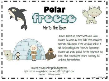 Write the Room-Camp Kindergarten Bundle