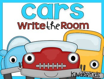Write the Room {Cars}