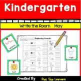 Write the Room Center Activities For Kindergarten