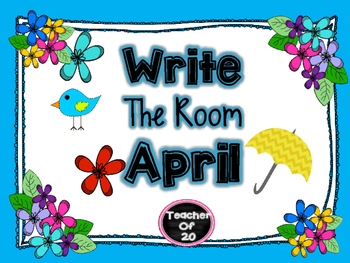 Spring Write the Room Center {April}