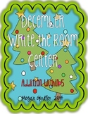 Write the Room Center December Christmas Trees Addition