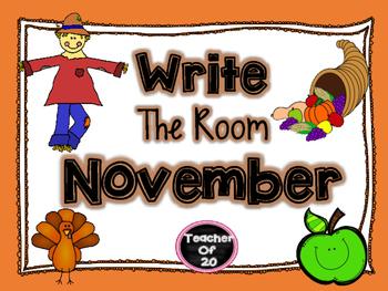 Write the Room Center {November}