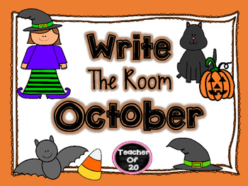 Write the Room Center {October}