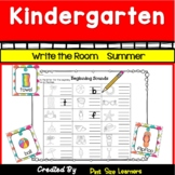 Write the Room Center Summer Activities For Kindergarten
