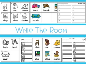 Write the Room Ch Digraph