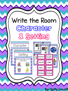 Write the Room - Character & Setting