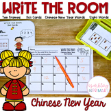 Write the Room Chinese New Year Math and Literacy Centers