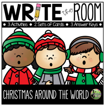 Write the Room: Christmas Around the World Edition (K-2)