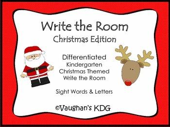 Write the Room - Christmas Edition