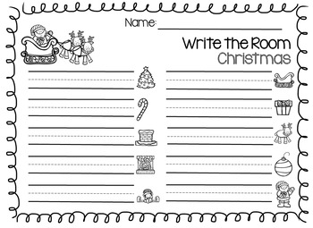 Write the Room- Christmas Edition