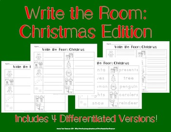 Write the Room: Christmas Edition
