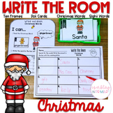 Write the Room Christmas Math and Literacy Centers