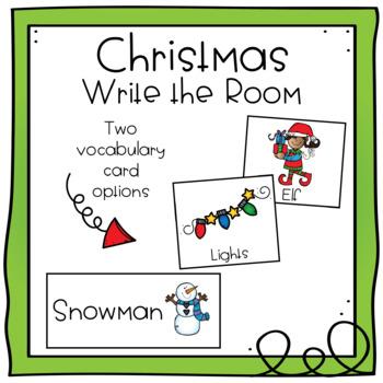 Write the Room - Christmas Theme