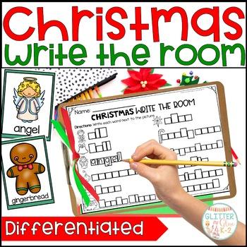 Write the Room- Christmas Themed!