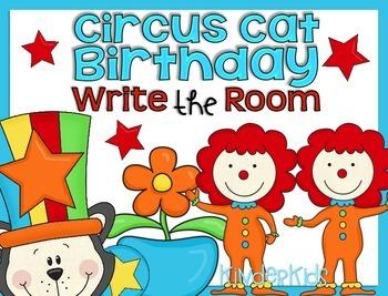Write the Room {Circus Cat Birthday}