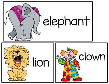 Write the Room: Circus Fun!